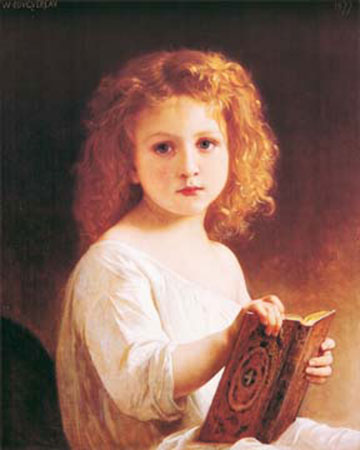 The story book Bouguereau William