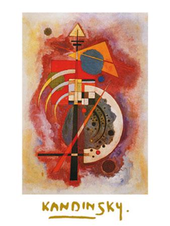 Hommage a Grohmann Kunstdruck mit Folienprägung Kandinsky Wassily