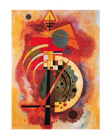 Hommage a Grohmann Kunstdruck Kandinsky Wassily