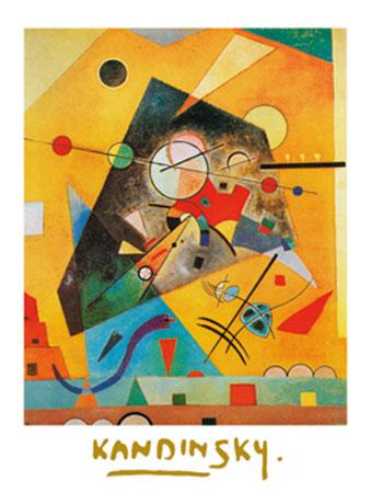 Harmonie Tranquille Kunstdruck mit Folienprägung Kandinsky Wassily