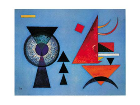 Weiches Hart Kunstdruck Kandinsky Wassily