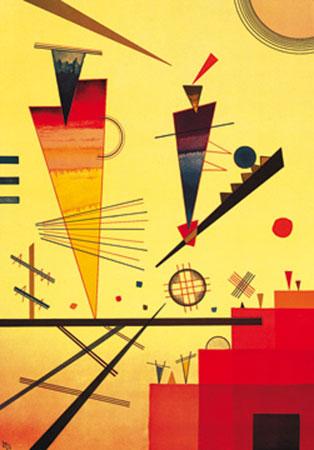 Struttura allegra Kunstdruck Kandinsky Wassily