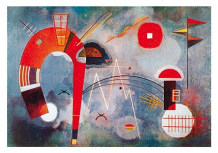 Rond et pointu Kunstdruck Kandinsky Wassily