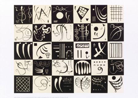 Trente (1937) Kunstdruck Kandinsky Wassily