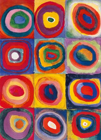 Studio del colore Kunstdruck Kandinsky Wassily