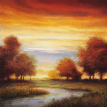 Sundown I Kunstdruck Williams Gregory