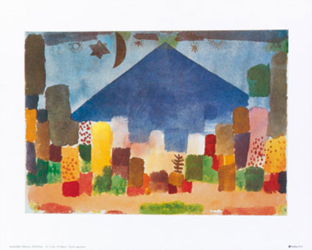 Notte egiziana Kunstdruck Klee Paul