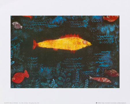 The golden fish, 1925 Kunstdruck Klee Paul