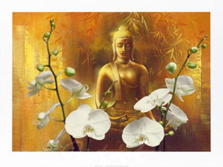 Samadhi I Kunstdruck Ying-Wu Wei