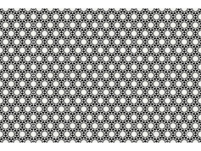 Designtapete Kreise werden zu Sternen