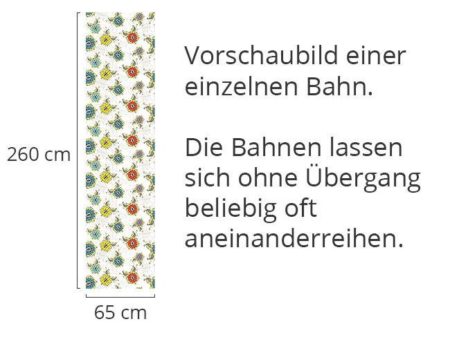 Designtapete Orientalischer Blumentraum