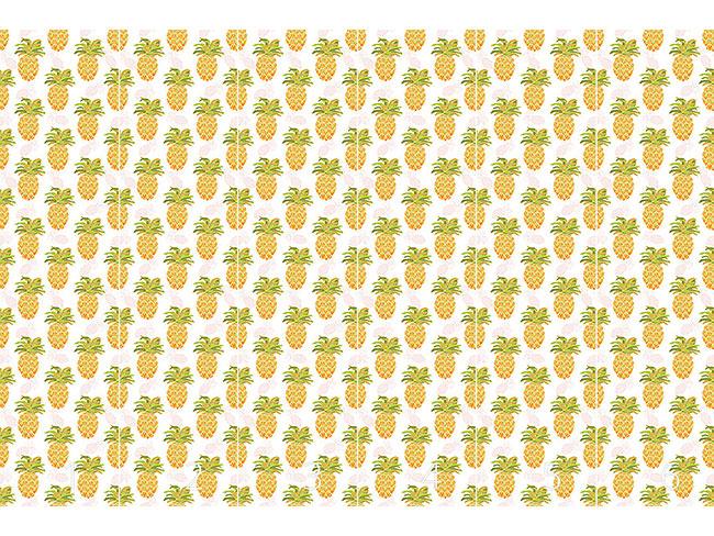 Designtapete Ich Will Ananas