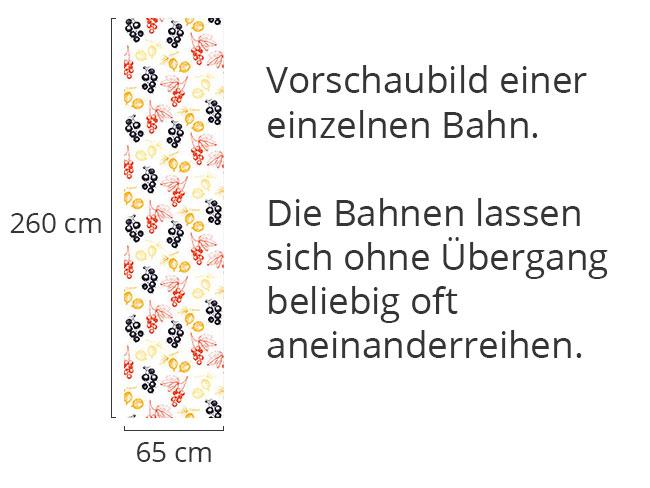 Designtapete Rote Und Schwarze Johannisbeere