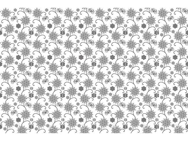 Designtapete Elegante Flora