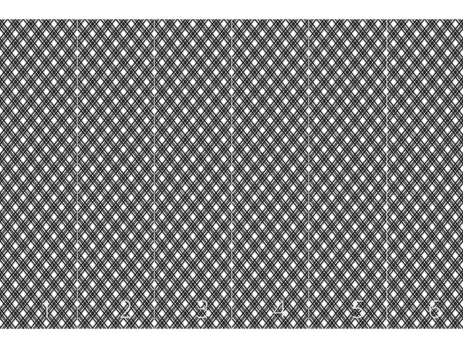 Designtapete Glencheck Monochrom