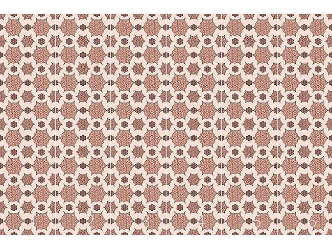 Designtapete Niedliche Grafikblumen