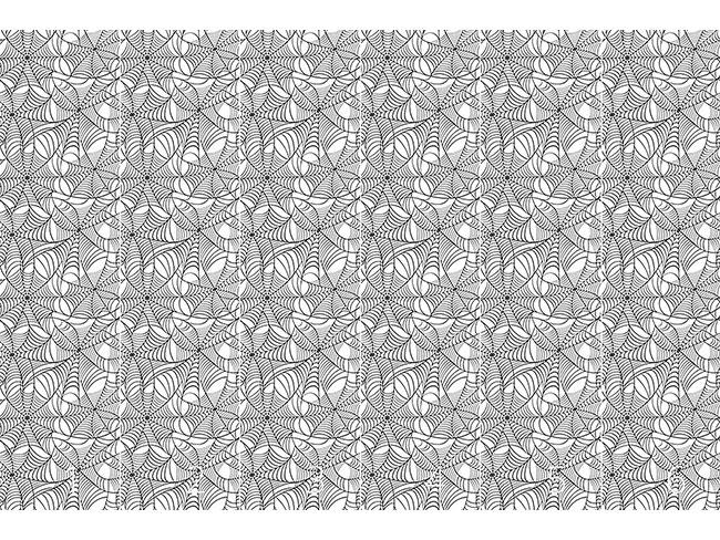 Designtapete Spinnennetz