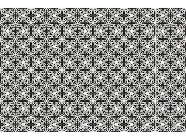 Designtapete Schneckenschnörkel