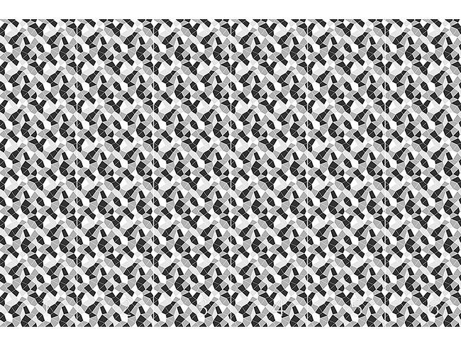 Designtapete Zerknüllte Oberfläche