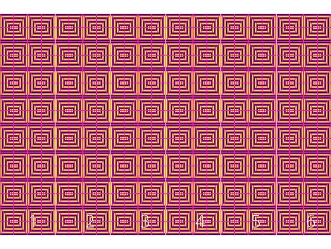 Designtapete Quadrat Gitter
