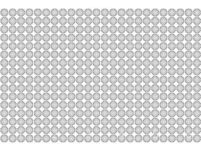 Designtapete Verbundene Kreise
