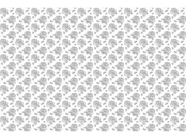 Designtapete Blühende Rosen