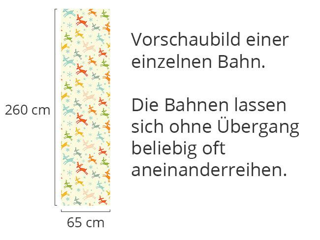 Designtapete Laufende Hirsche