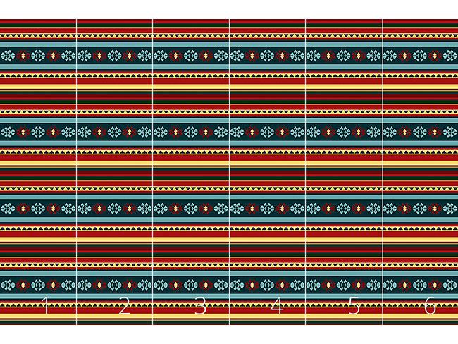 Designtapete Persischer Kelim