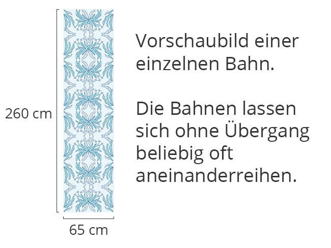 Designtapete Märchen Blumen