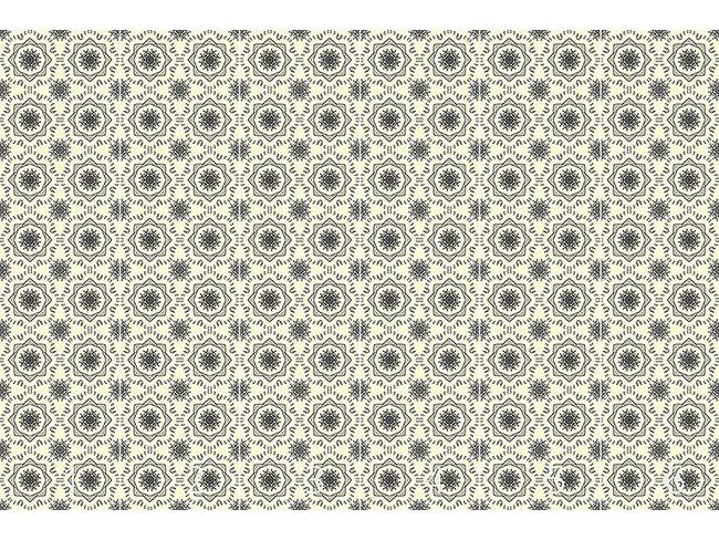Designtapete Kreis Ranken