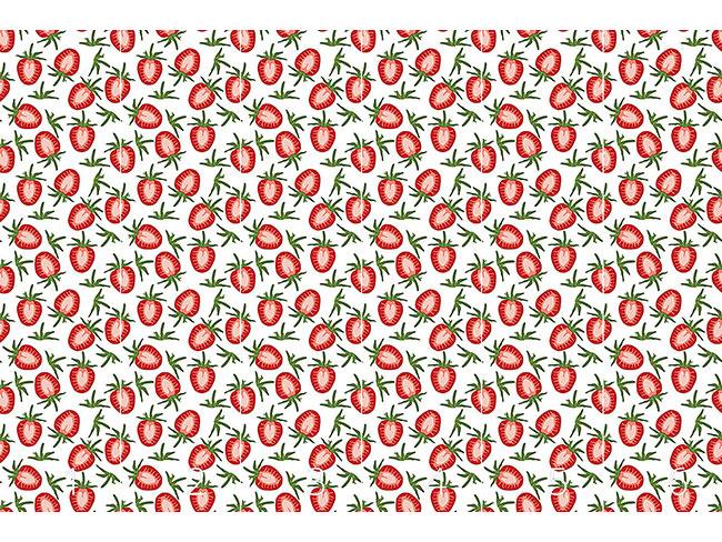 Designtapete Leckere Süsse Erdbeeren