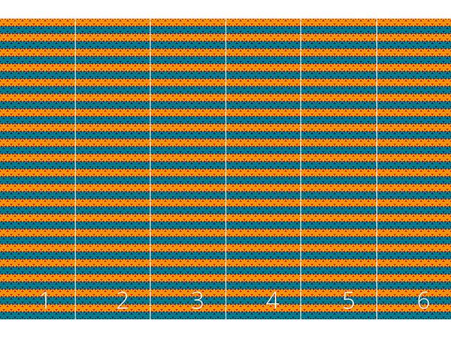 Designtapete Streifen Kontrast
