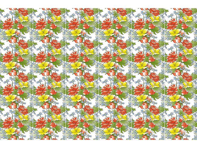 Designtapete Blumenbouquet Asia