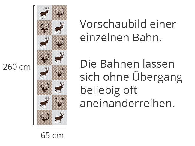 Designtapete König Des Waldes Braun