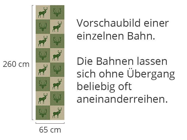 Designtapete König Des Waldes Grün