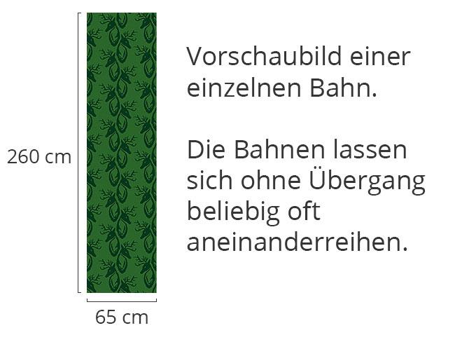Designtapete Hirschgrün