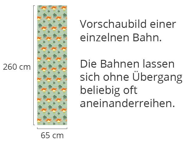 Designtapete Fuchsie Grün