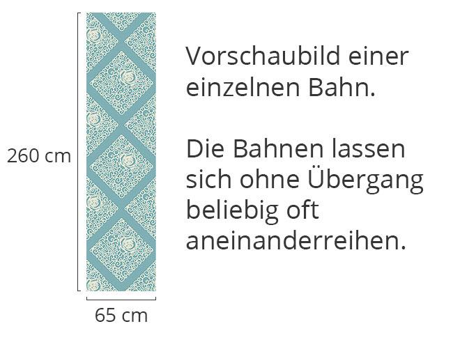 Designtapete Dornröschens Minze
