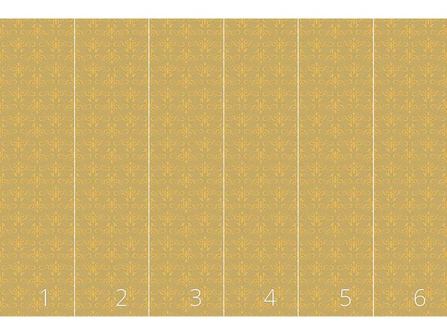 Designtapete Aschenputtel Gold