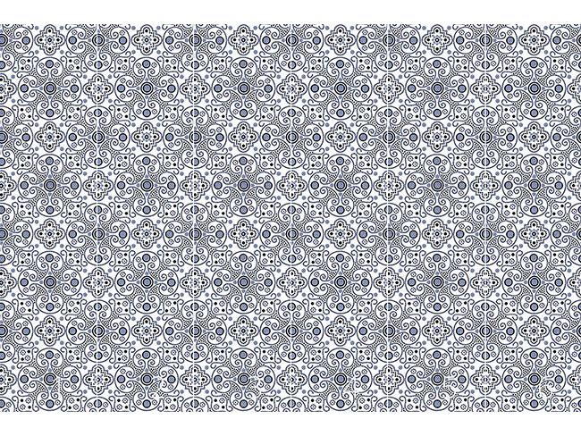 Designtapete Medaillon