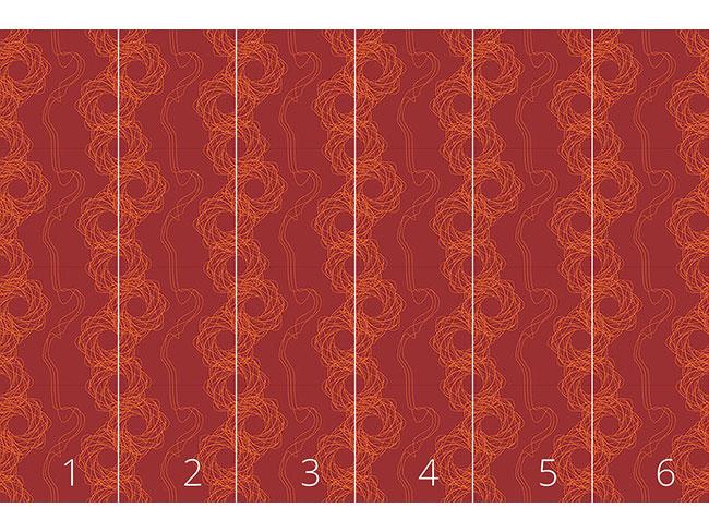 Designtapete Abstrakte Linien