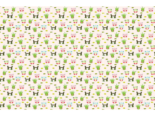 Designtapete Schafe Zählen