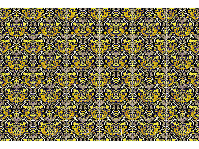 Designtapete Bon Apart Gelb
