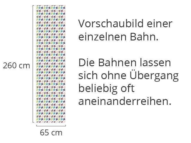 Designtapete Blümchen Regieren