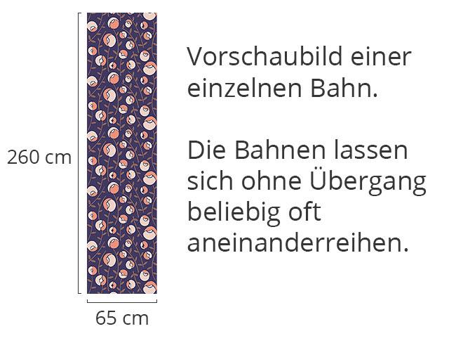 Designtapete Frauenschuh Pastell