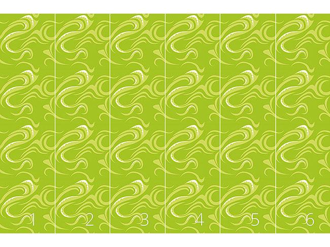 Designtapete Paikea Grün