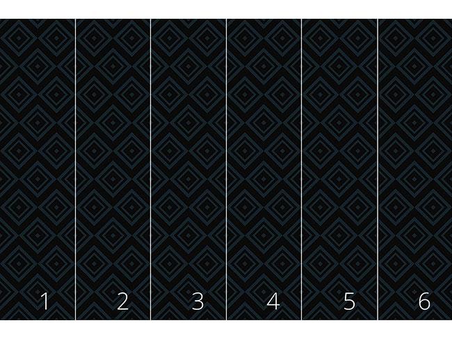 Designtapete Quadratisches Nachtspiel