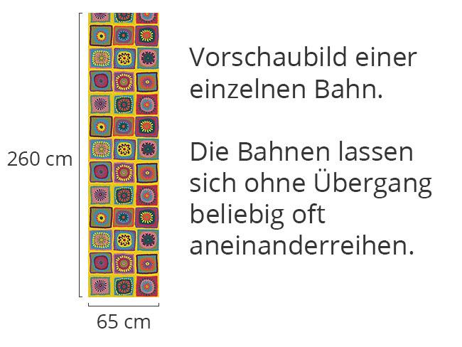 Designtapete Omamas Kuscheldecke
