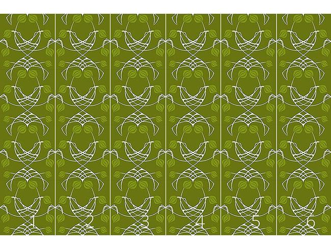 Designtapete Arwens Traum Grün