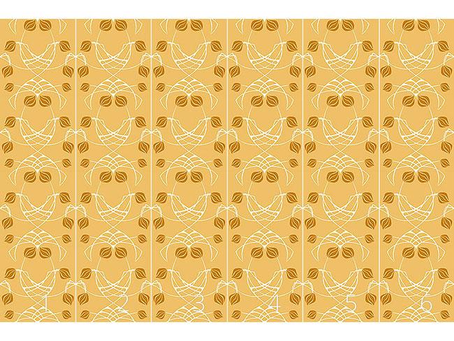 Designtapete Arwens Traum Gold